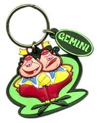 Gemini Keychain