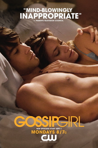 Gossip Girl Hintergrund with skin entitled Gossip Girl - S2 Poster Promo's