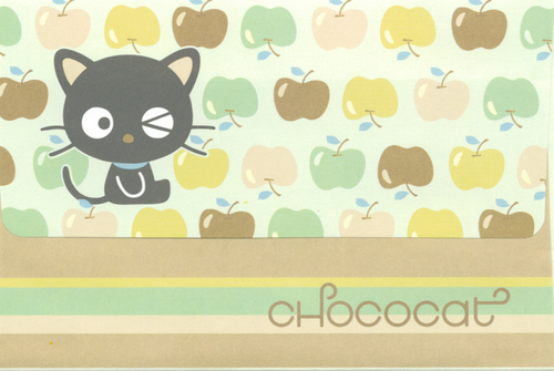Green Apples Chococat