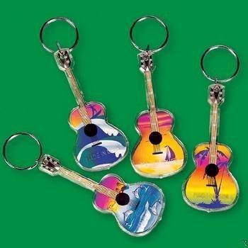 guitarra Keychains