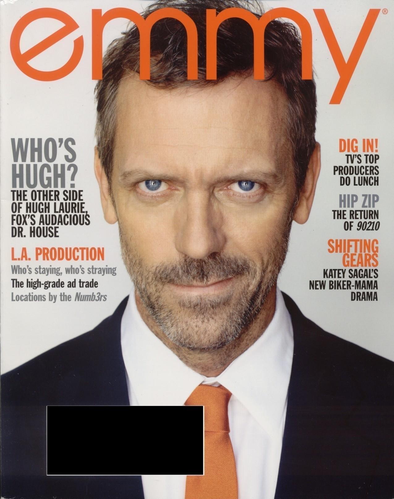 HUgh Laurie Emmy Magazine