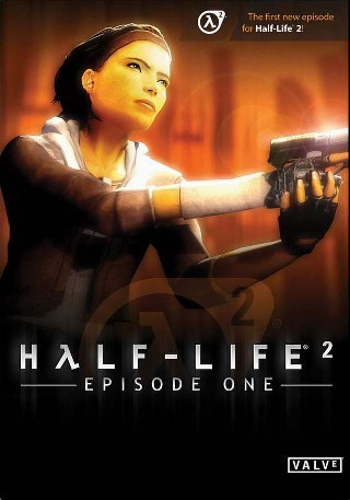 Half Life hình nền probably with a sign, a portrait, and anime entitled Half-Life 2: Episode 1 cover art