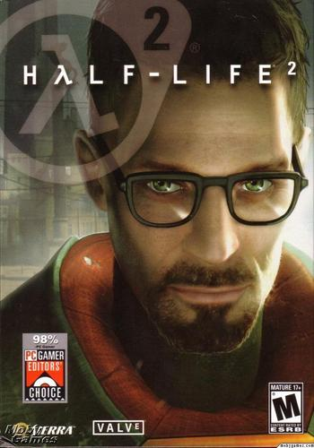 Half Life wallpaper called Half-Life 2 cover art