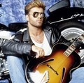 Hand On Guitar - george-michael photo