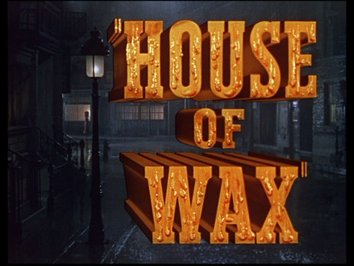 House Of Wax movie शीर्षक screen