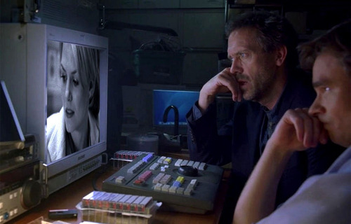 House and Wilson watching CameronTV
