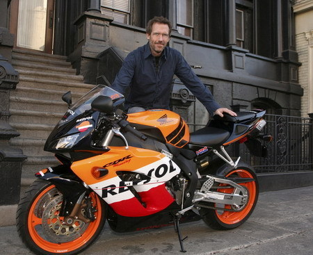 House and his bike