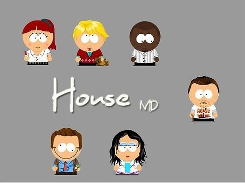 House the Cast (south park)
