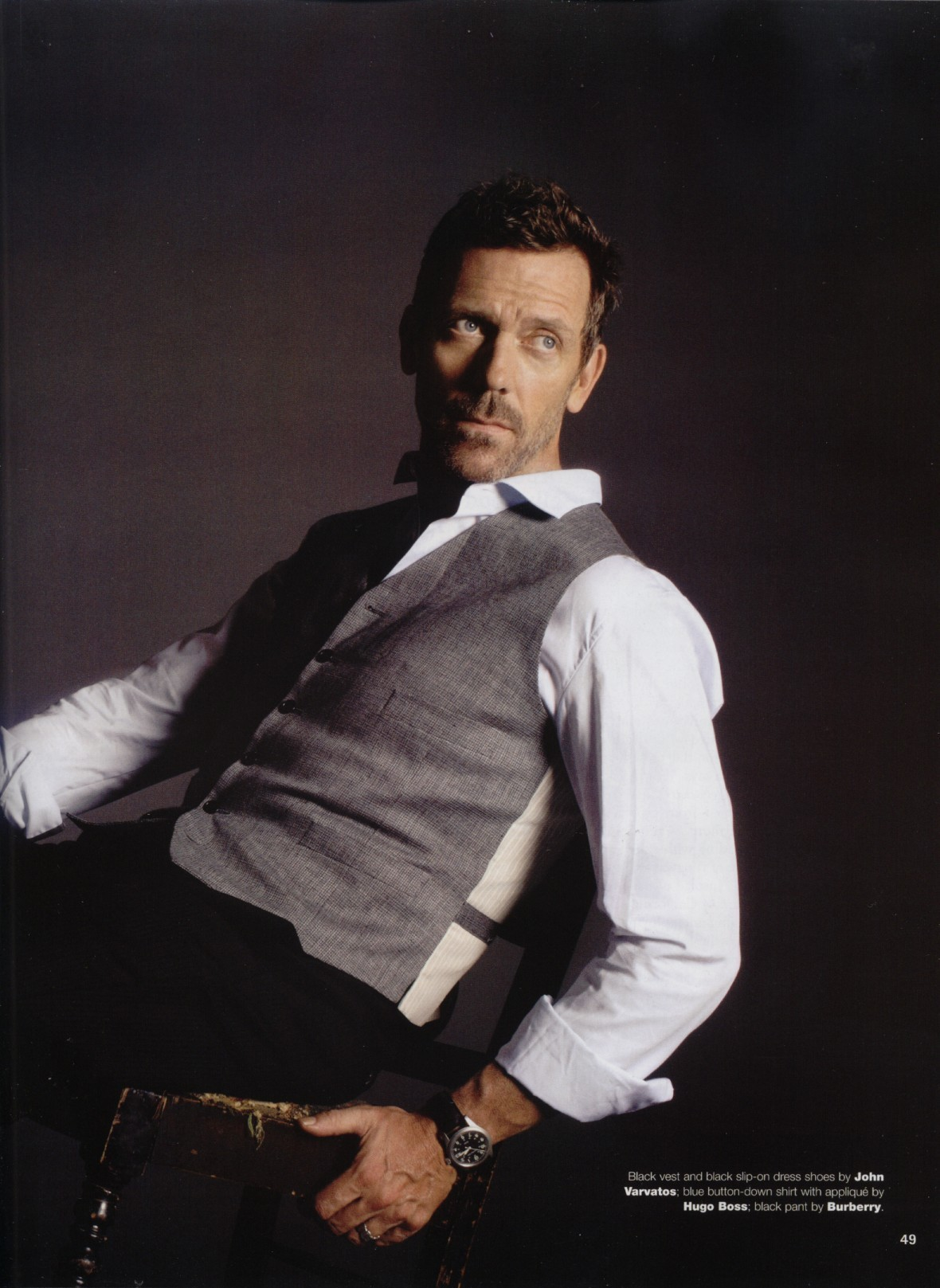 Hugh Laurie in Emmy Ma...