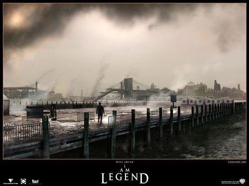 I Am Legend- Concept Art