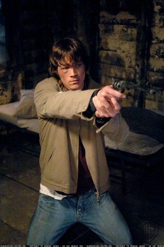 Jared as Sam Winchester