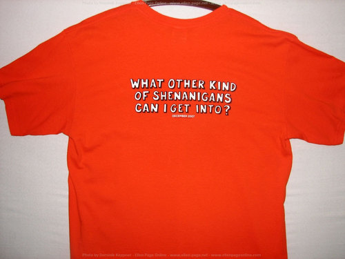 Juno T-shirts.