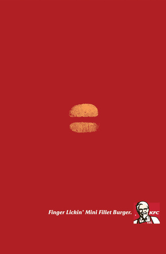 KFC Mini Fillet Burger