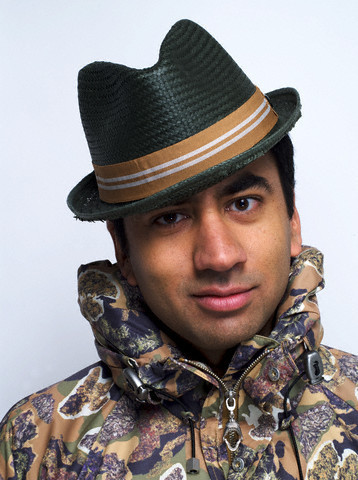 Kal Penn wallpaper containing a green beret, fatigues, and battle dress entitled Kal Penn Photoshoot for Complex Magazine