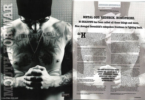 Avenged Sevenfold wallpaper possibly with a sign titled Kerrang