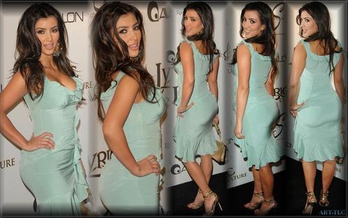 Kim Kardashian wallpaper probably containing a portrait called Kim wallpapers
