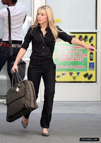 Kristen on Set Heroes Season 3