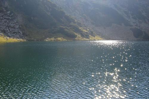 Lake in Retezat Mountains