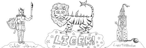 Napoleon Dynamite wallpaper called Liger