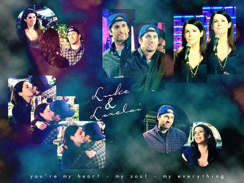 Luke and Lorelai