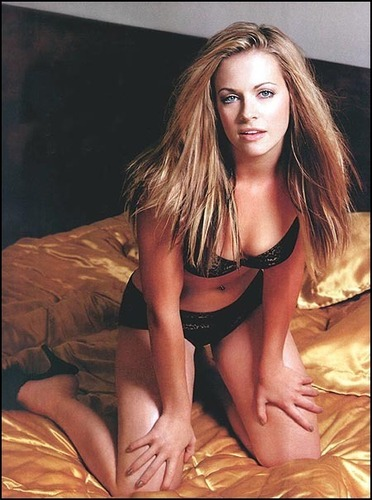 Melissa Joan Hart karatasi la kupamba ukuta possibly with attractiveness, a bustier, and a swimsuit entitled Maxim