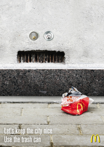 McDonald's: Keep the City Clean - mcdonalds Photo