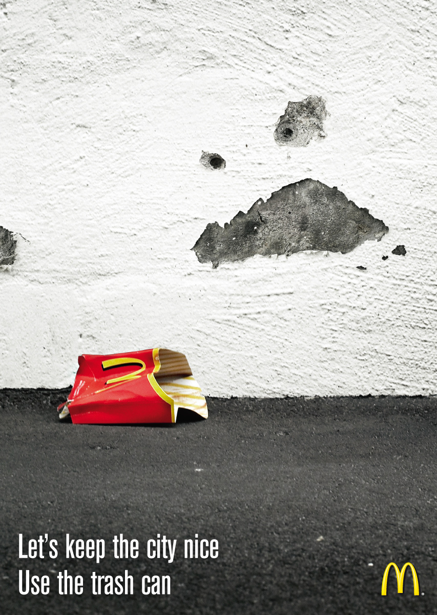 McDonald's: Keep the City Clean