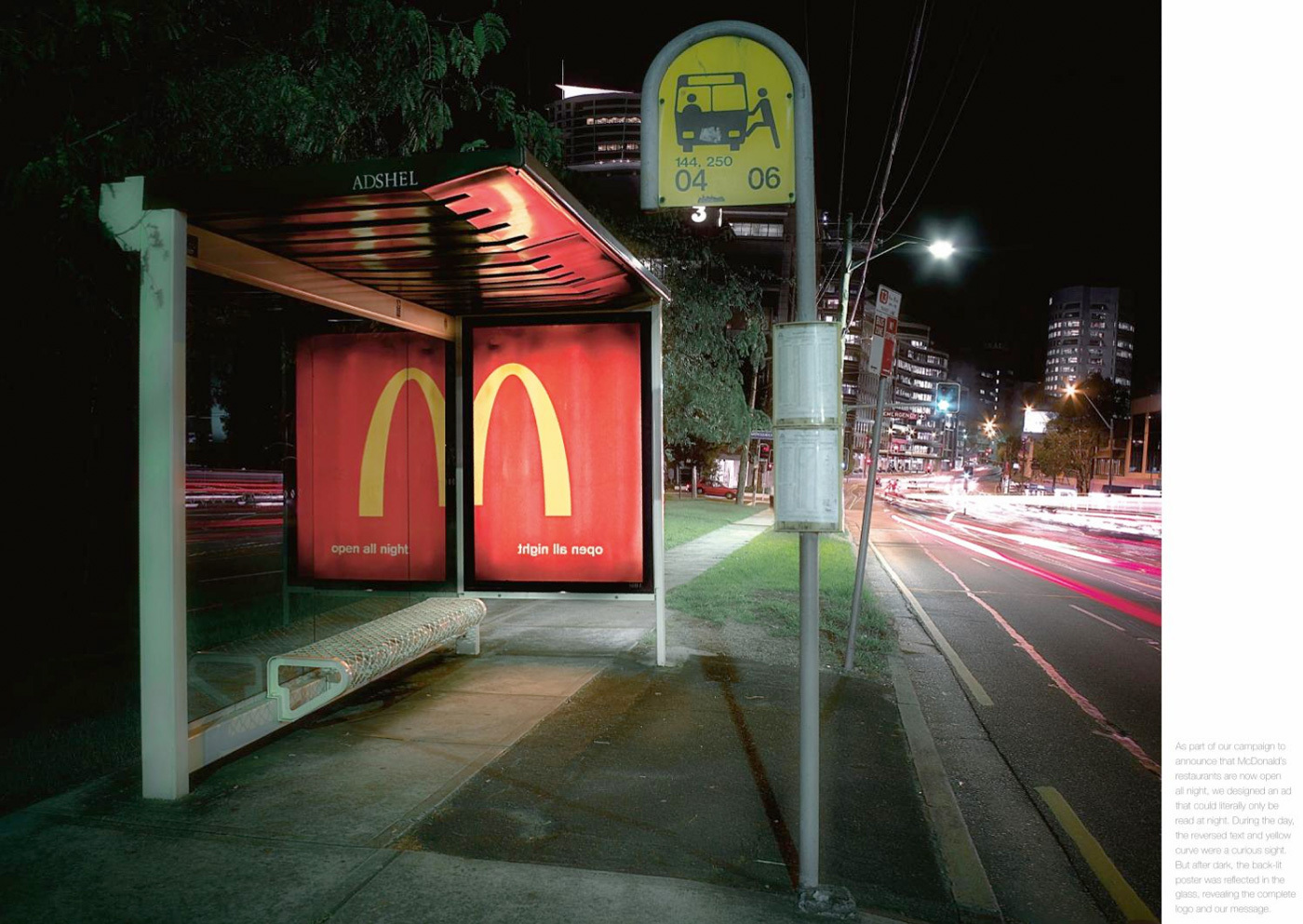 McDonald's: Open All Night