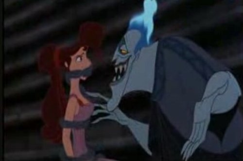 Disney Villains wallpaper entitled Meg and Hades