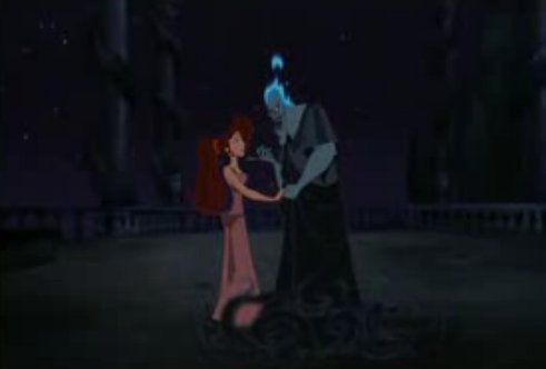 Disney Villains hình nền titled Meg and Hades