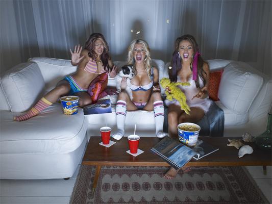 Melina, Ashley & Maria
