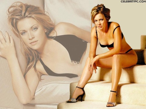 Melissa Joan Hart Hintergrund with attractiveness, a bikini, and skin entitled Melissa J. Hart
