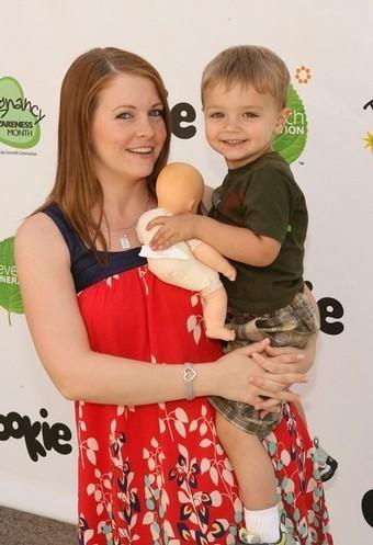 Melissa with Mason