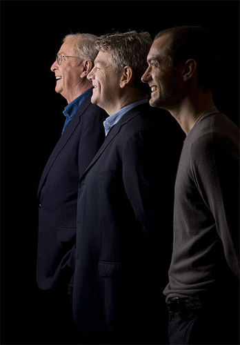 Michael Caine, Kenneth Branagh and Jude Law