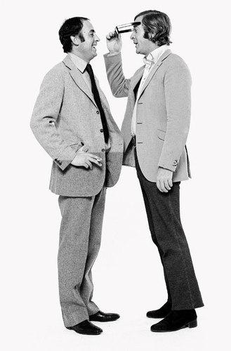 Michael Caine and Doug Hayward