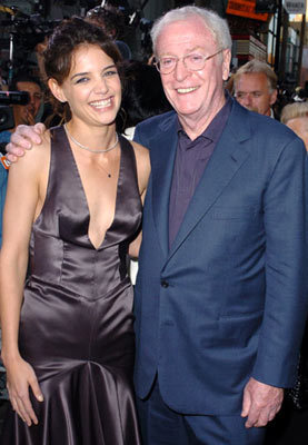 Michael Caine and Katie Holmes