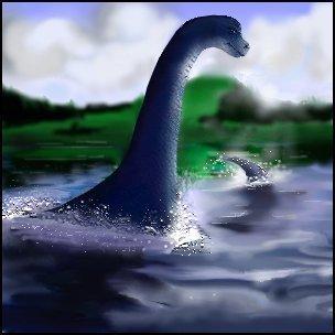 Loch Ness Monster Обои titled Nessie