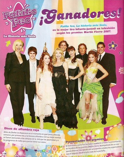New Patito Feo magazine scans