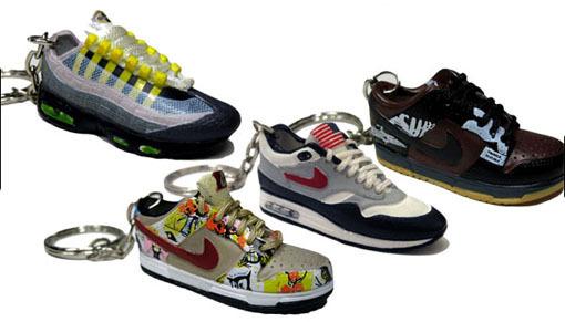 Nike Shoe Keychains