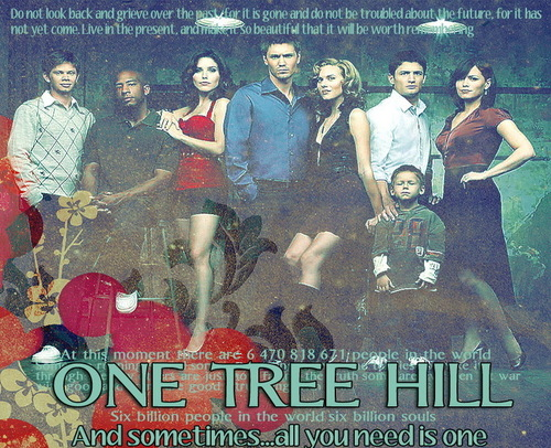 One Tree Hill wallpaper with anime entitled OTH