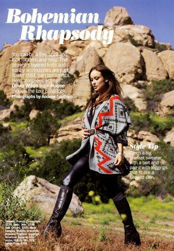 Olivia Wilde in Cosmopolitan