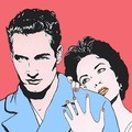 Paul Newman with Elizabeth Taylor Pop Art