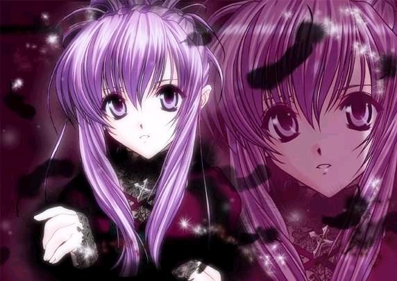 صور أنمي  روعة Purple-hair-anime-20