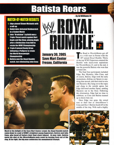 RAW Magazine March '05