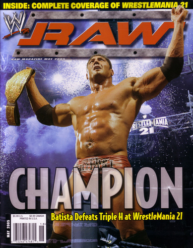RAW Magazine May '05 Cover