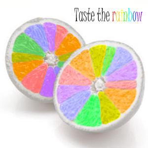 upinde wa mvua oranges