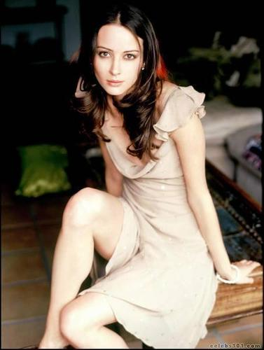 Amy Acker kertas dinding called Rawak Amy Acker