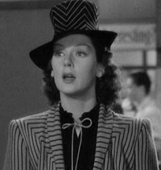 "Rosalind Russell in ""His Girl Friday"""