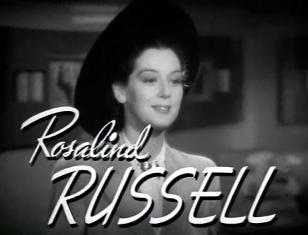 "Rosalind Russell in ""The Feminine Touch"""