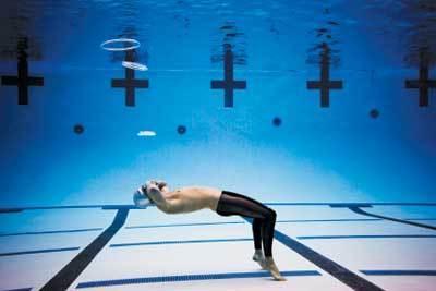 Ryan Lochte Underwater